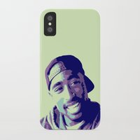 tupac iPhone & iPod Cases featuring Tupac by victorygarlic