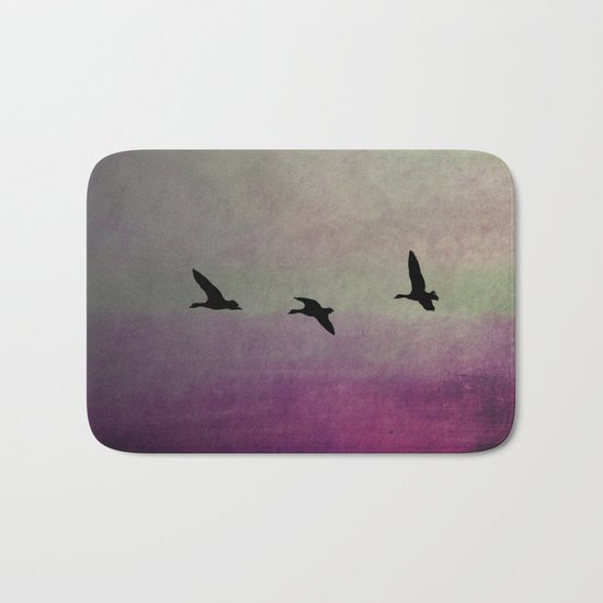 Goose Flight - JUSTART © Bath Mat