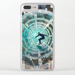 1905011b Clear iPhone Case