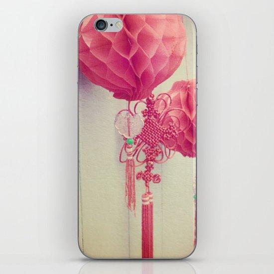 Chinese Lanterns II iPhone & iPod Skin