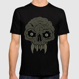 MAGIC SWAMP BLACK MANA SKULL T-shirt