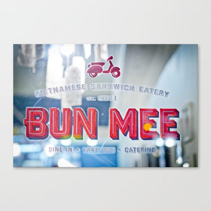 BUN-MEE Canvas Print