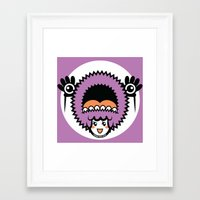 pagan Framed Art Prints featuring Pagan Lavender by Pagan Holladay
