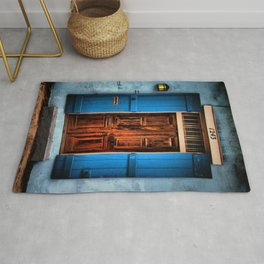 French Quarter Antique New Orleans Doorway Rug