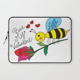 Bee My Valentine Laptop Sleeve