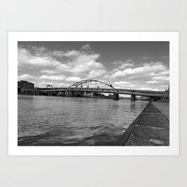 City of Bridges Art Print