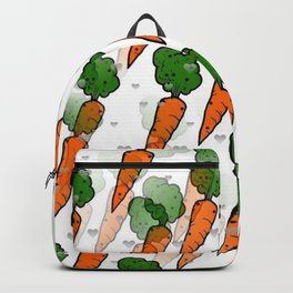 Carrot Popart by NIco Bielow Backpack