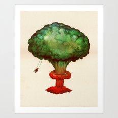The Nuke Tree Art Print