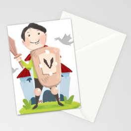 The Little Guardian Stationery Cards