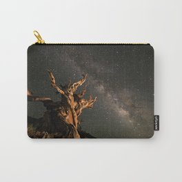 Milky Way over an Ancient Bristlecone Pine  Carry-All Pouch