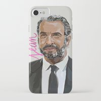 cassandra jean iPhone & iPod Cases featuring Jean by beecharly