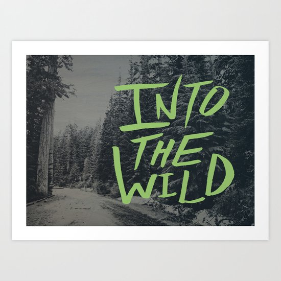 Into the Wild: Lost Lake Art Print