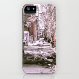 Montreal - Alley iPhone Case