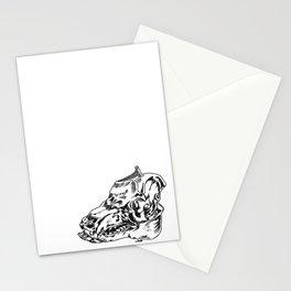 Pig Skull Stationery Cards