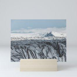Skaftafelljökull Mini Art Print