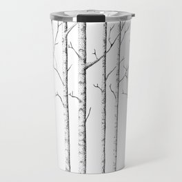 The birch forest Travel Mug