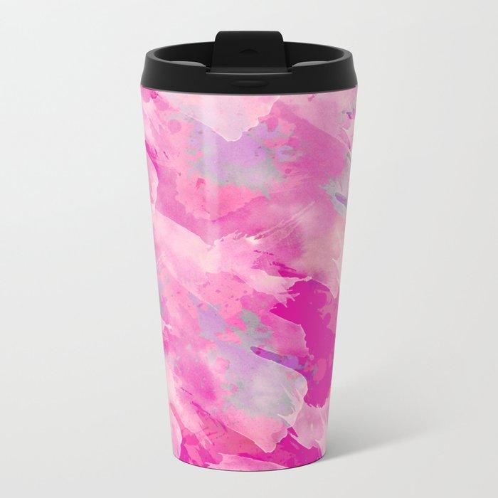 Abstract 46 Metal Travel Mug