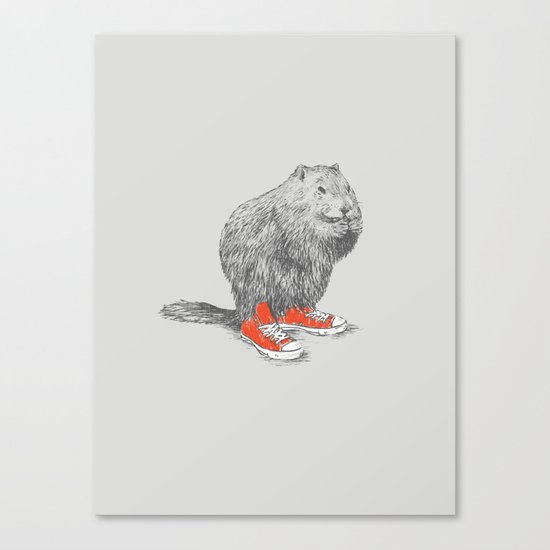 Woodchucks Canvas Print