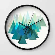 Cold Mountain Wall Clock