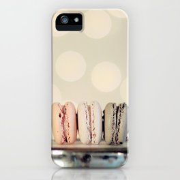 macarons ... 3 iPhone Case