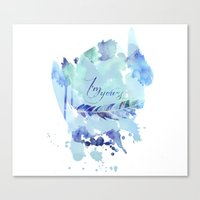 ygritte Canvas Prints featuring I'm yours by Rose's Creation