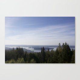 Vancouver Lookout Mount Cypress Canvas Print