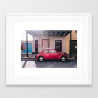 bug Framed Art Prints featuring Bug by Mat Martin