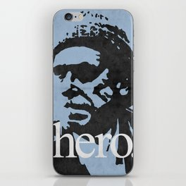 Charles Bukowski - hero. iPhone Skin