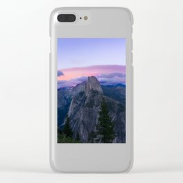 Yosemite National Park at Sunset Clear iPhone Case