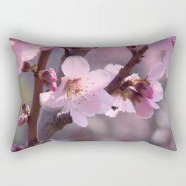 Pink spring time Rectangular Pillow