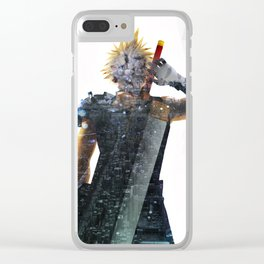 Soldier Living legacy Clear iPhone Case
