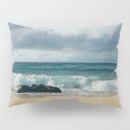 Hookipa Beach Pacific Ocean Waves Maui Hawaii Pillow Sham