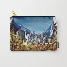 Wintry Hogsmeade Carry-All Pouch