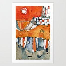 Ciudad Art Print