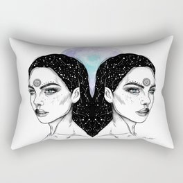 Gemini - Zodiac Series Rectangular Pillow