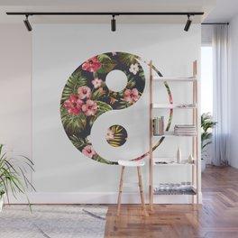 Yin Yang Wall Mural