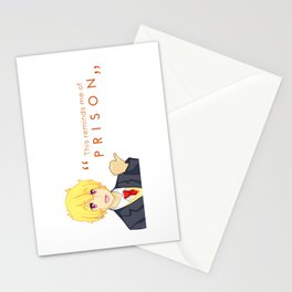 Thugisa 50% Off - Reminds Me of Prison Stationery Cards