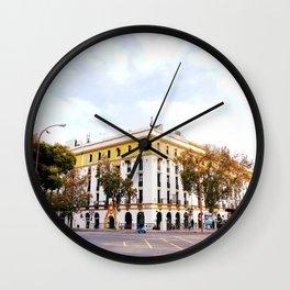 City Block, Seville Wall Clock