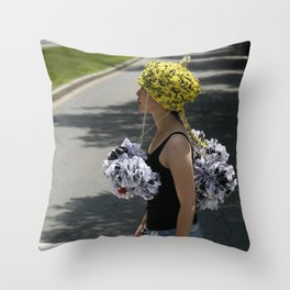 Protect Your Head Throw Pillow
