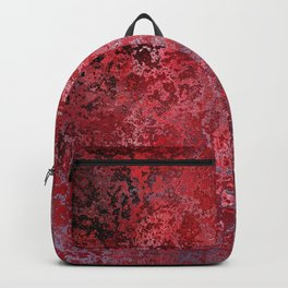 Bloody decor | Halloween | Scabby | Blood | Gothic background Backpack