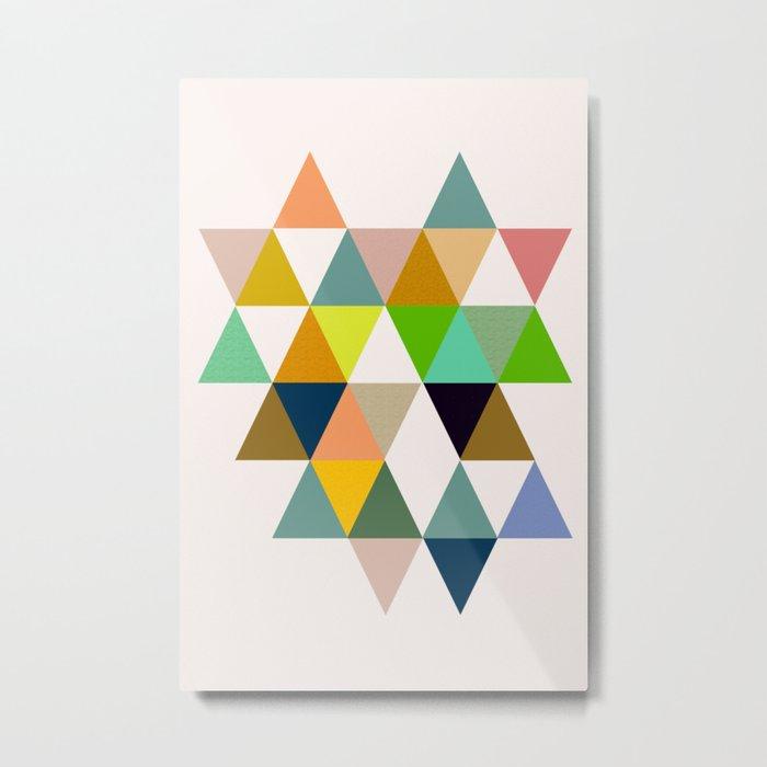 Abstract #742 Metal Print