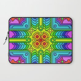 Deconstructed Spinners Laptop Sleeve