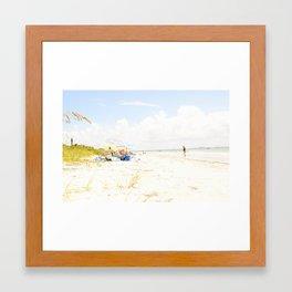 FLORIDA SUN Framed Art Print