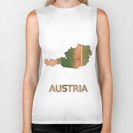 Austria map Biker Tank