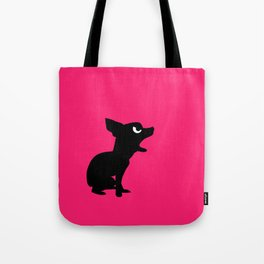 Angry Animals: Chihuahua Tote Bag