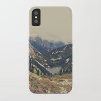 photograph iPhone & iPod Cases featuring Mountain Flowers by Kurt Rahn