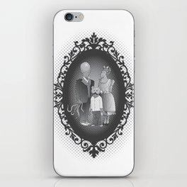 Framed family portrait iPhone Skin
