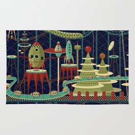 Fantastic Launch Station Rug