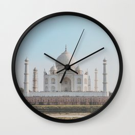 Taj Mahal, India Wall Clock