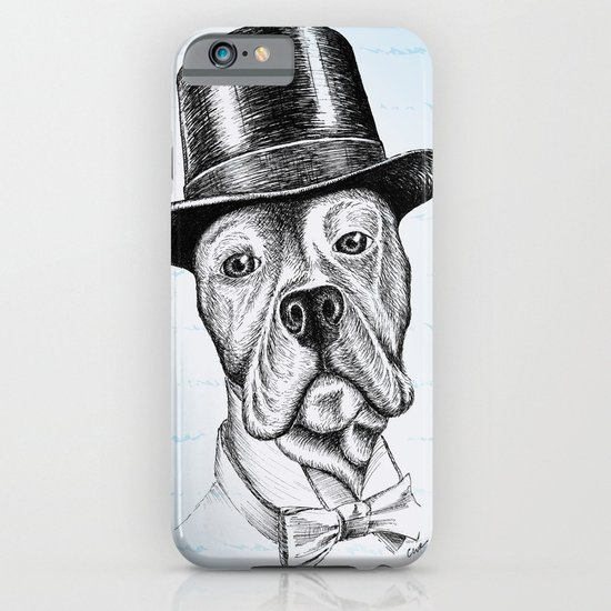 I'm too SASSY for my hat! Vintage Pup. iPhone & iPod Case